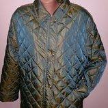 40р стильная куртка Basler утеплена чуть синтепоном, в поясе подкладка нат шерсть цвет оливковый с о
