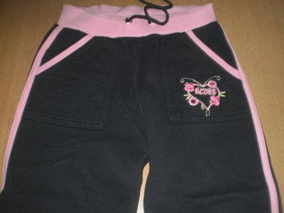 Теплые штанишки на девочку от 4 до 6 лет и рост 116