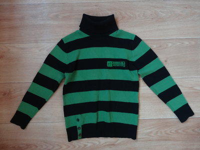 Теплый свитерок под горло для мальчика 5- 7 лет
