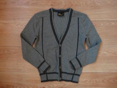 Продано: prodano Серый кардиган на мальчика 120 рост