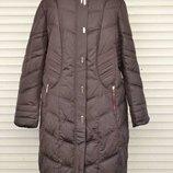 Зимове пальто на тинсуейтi Mishelle, 54, 56, 58, 60 р. Зимнее пальто на тинсулейте