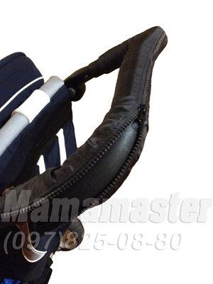 Чехлы тканевые на ручку и бампер коляски