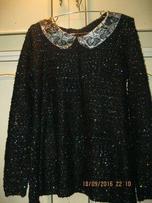 Нарядный свитер 48 размера