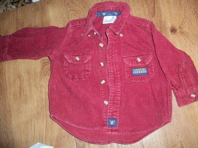 рубашка микровильвет на малыша 1-2года