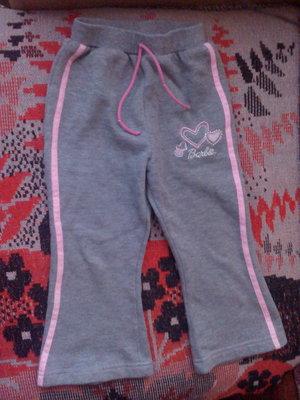Продам спортивные штаны для девочки 1-2лет