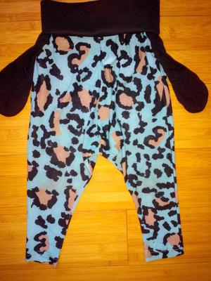 Классные, крутые, модные леопардовые бриджи, штаники на 2-4 года