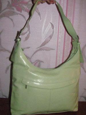 Салатовая сумка Mick-Gwend