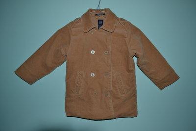 Стильное вельветовое пальто-куртка Gap с карманами. Рост 104.