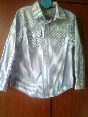 Красивая рубашка Rebel на мальчика 5-6 лет