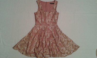 Платье гипюр с юбкой-солнцеклеш фирмы Internacionale р.8