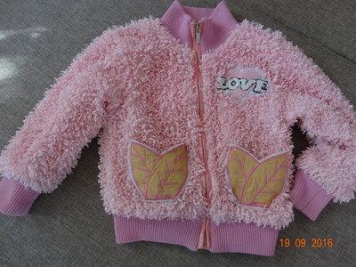 Курточка розовая на девочку