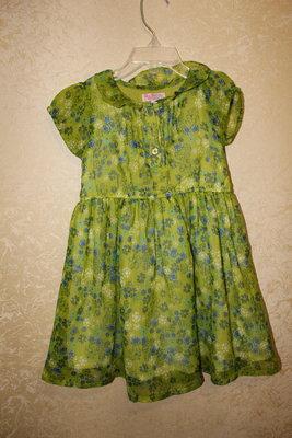 стильное нарядное платье 3-4 года