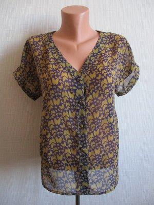 Летняя шифоновая блузка в бабочках G21 от George