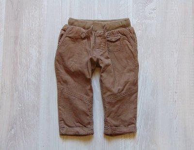 Стильные вельветовые штаники для мальчика. Sferababy. Размер 3-6 месяцев. Состояние идеальное.