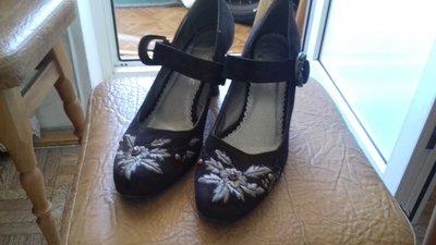 Кожаные туфли размер 38-39