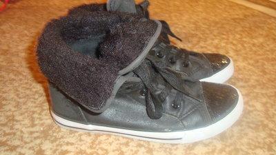 Демисезонные ботиночки- кеды, 22см стелька