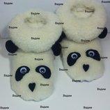 Тапочки сапожки Панда
