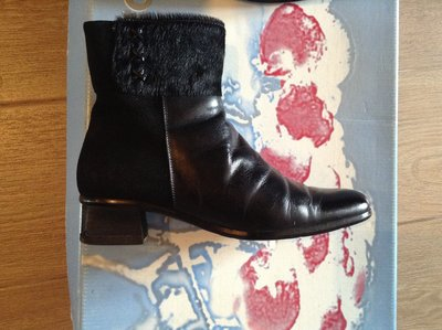 Кожаные зимние ботинки Aragona 36 р-ра Италия