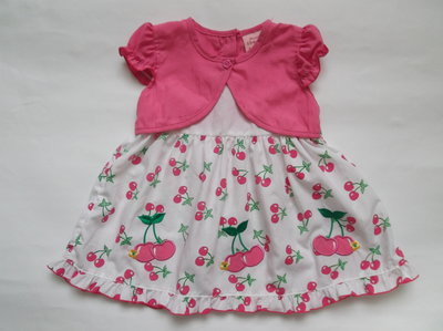 Платье для девочки 6-12 месяцев на рост 68-74 см Sweet elegance