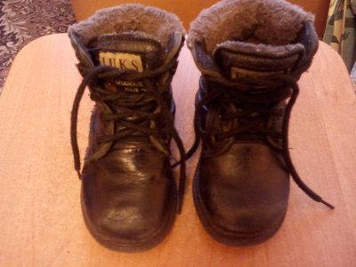 Ботинки зимние для мальчика 22 размер