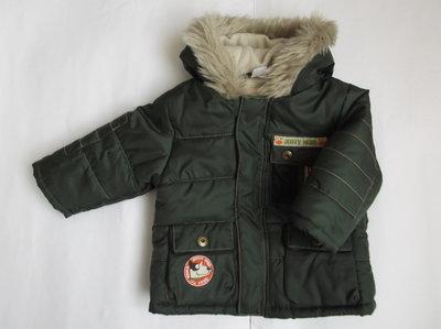 Курточка теплая для мальчика на рост 68-74 см Baby club
