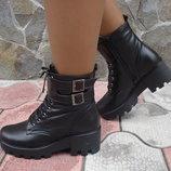 Ботинки женские зимние. S-52. натуральная кожа.