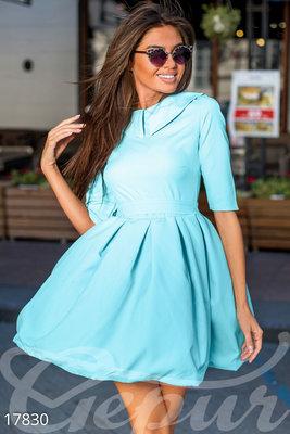 Очаровательное мини платье