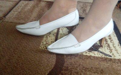Шикарные туфли р.38 кожа,фирма CHILLANY,Италия