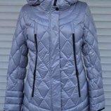 Пухова зимова куртка Mishelle, зимняя куртка, пуховик 48, 50, 52