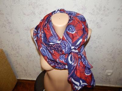 шарф парео тонкий стильный модный
