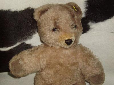 винтажная игрушка мишка медведь Штайфф Steiff Германия оригинал кнопка 32 см