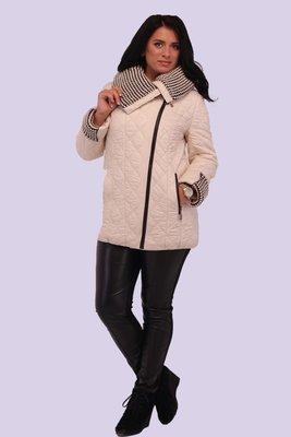 Куртка Адель с шикарной вязкой.модель 2017 года.2 цвета