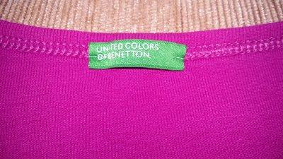 Отличный яркий реглан от Benetton