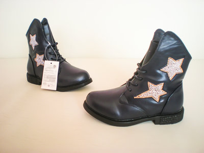 Супер модные демисезонные ботинки для девочек 26-32р.