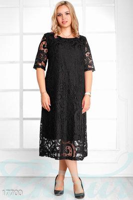 Очаровательное гипюровое платье