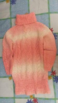 Тёплое платье туника на 5 - 7 лет