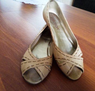 Летние туфли-босоножки,кожа, р.37 EMOTION