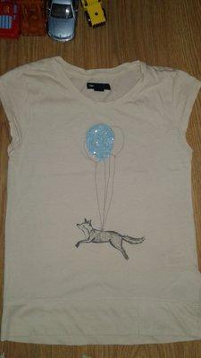 Фирменная футболка для девочки на 10-11лет gap