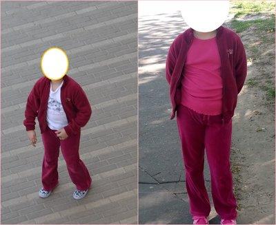 бордовый костюм на рост 122-130см