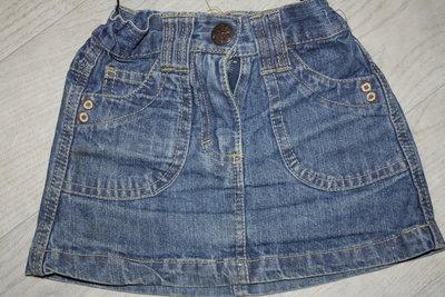 Модненькие джинсовые юбочки р-92/98 в хорошем состояии