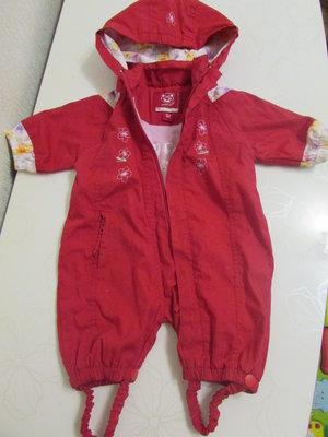 Комбинезончик-Ветровка для малышки 56-74см,комбинезон,курточка,человечек.