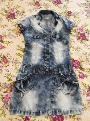 Красивое джинсовое платье, красиве джинсове плаття, р.S