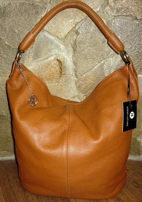 Итальянская кожаная сумка Anna Luchini,раз 35х43х19 см