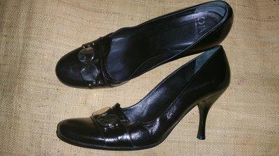 39-26.5 кожа эксклюзивные туфли от Diva Made in Italy не узкие ширина 8 см каблук 8.5