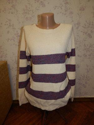 свитер вязаный стильный модный р12