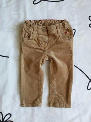 Крутые вельветовые штанишки от Next на 6-9 мес., 68-74 см
