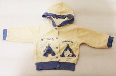 Красивая велюровая Кофточка для мальчика и девочки 1 г Детская одежда