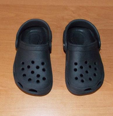 Фирменные кроксы для мальчика, 14 см