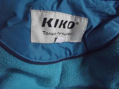 пальто-пуховик кико ,р.10,рост 140см,ФИРМА