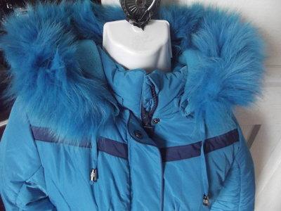 пальто-пуховик кико ,р.10,рост 140см
